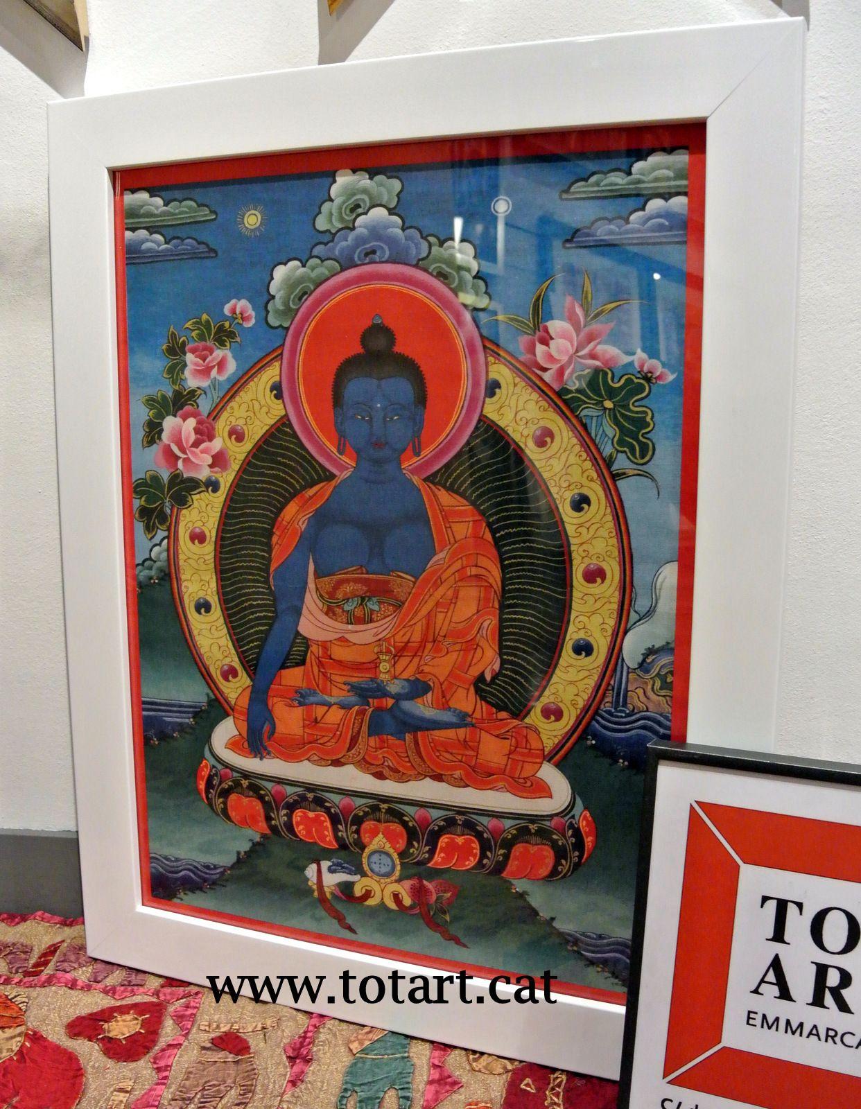 Enmarcación Tanca Tibet en tienda de marcos y cuadros TOTART ...