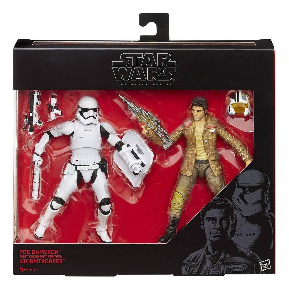 Star Wars Black Series Action Figure 2-Pack 2015 Poe Dameron & Stormtrooper Exclusive 15 cm
