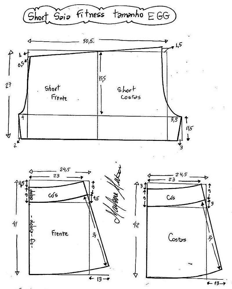 Falda+short   Costura - Patrones   Pinterest   Falda short, Falda y ...