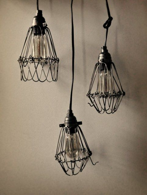DIY Industrial Pendant Lamps | Shelterness Industrial lights don\'t ...