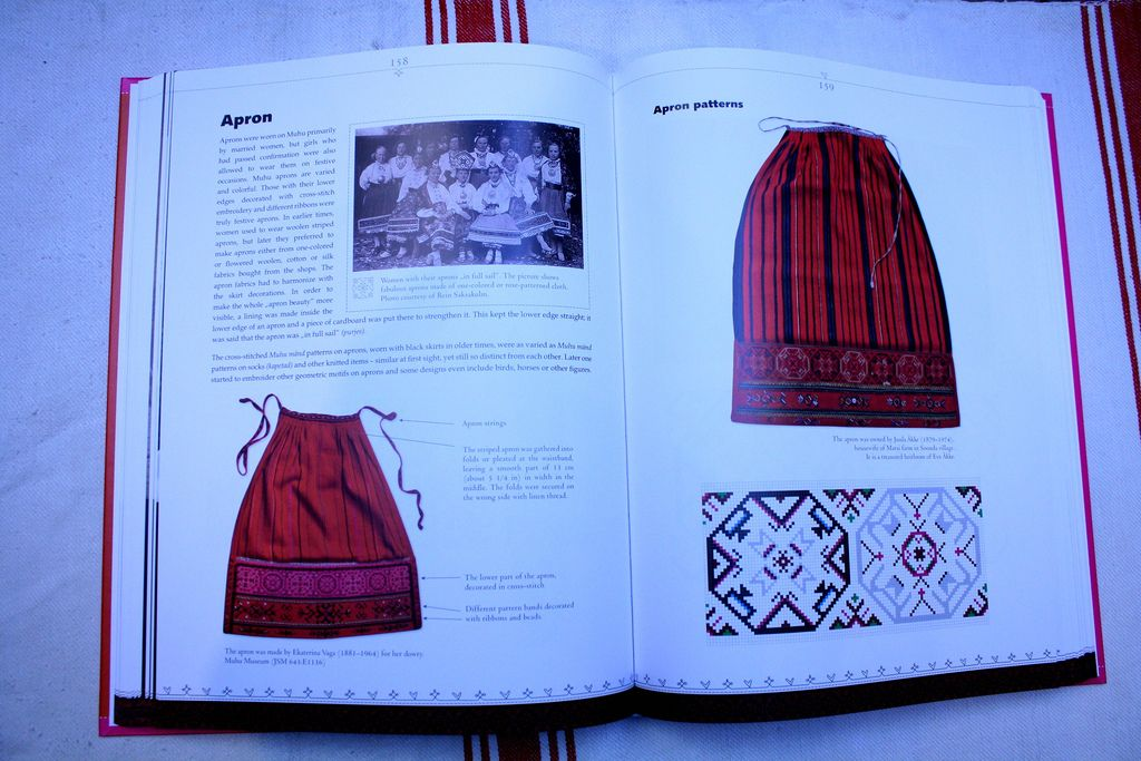Over 380 pages full of history, illustrations, charts and photographs of knitting, crocheting, lace and embroidery. This is the book that you will treasure ...