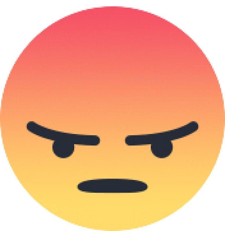 Angry React Sticker By Basiclight Cara Menggambar Gambar Fotografi