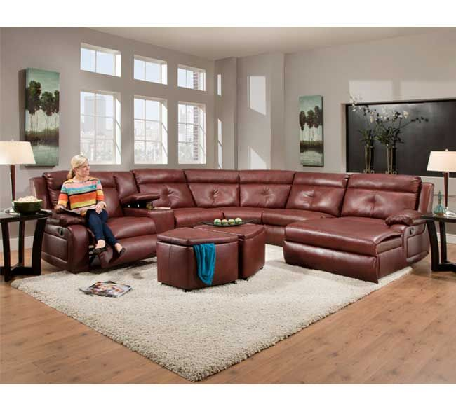 Southern Motion Dash 574 Sectional