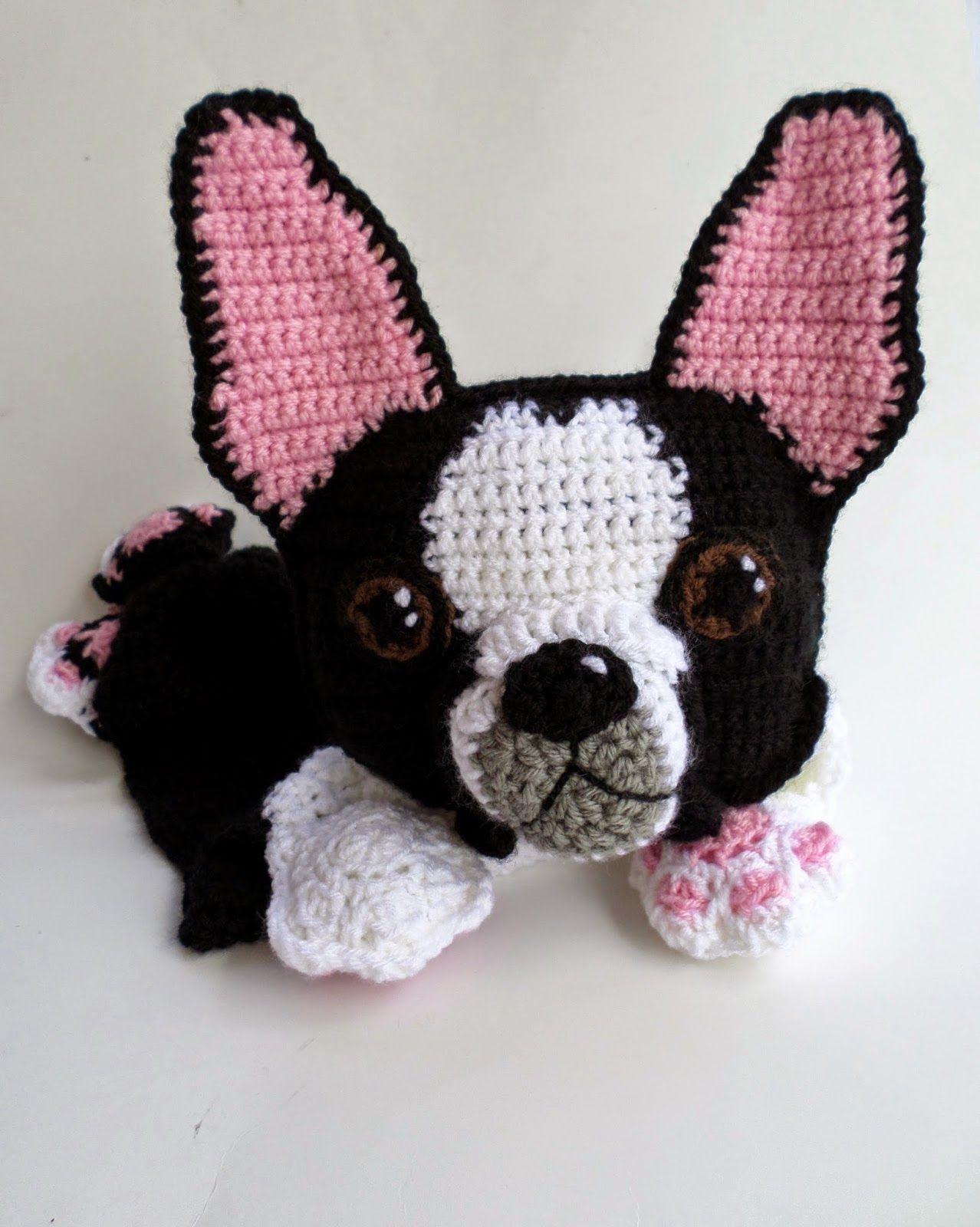 9875e67a380 Boston Terrier Blankie - Patterns for Sale