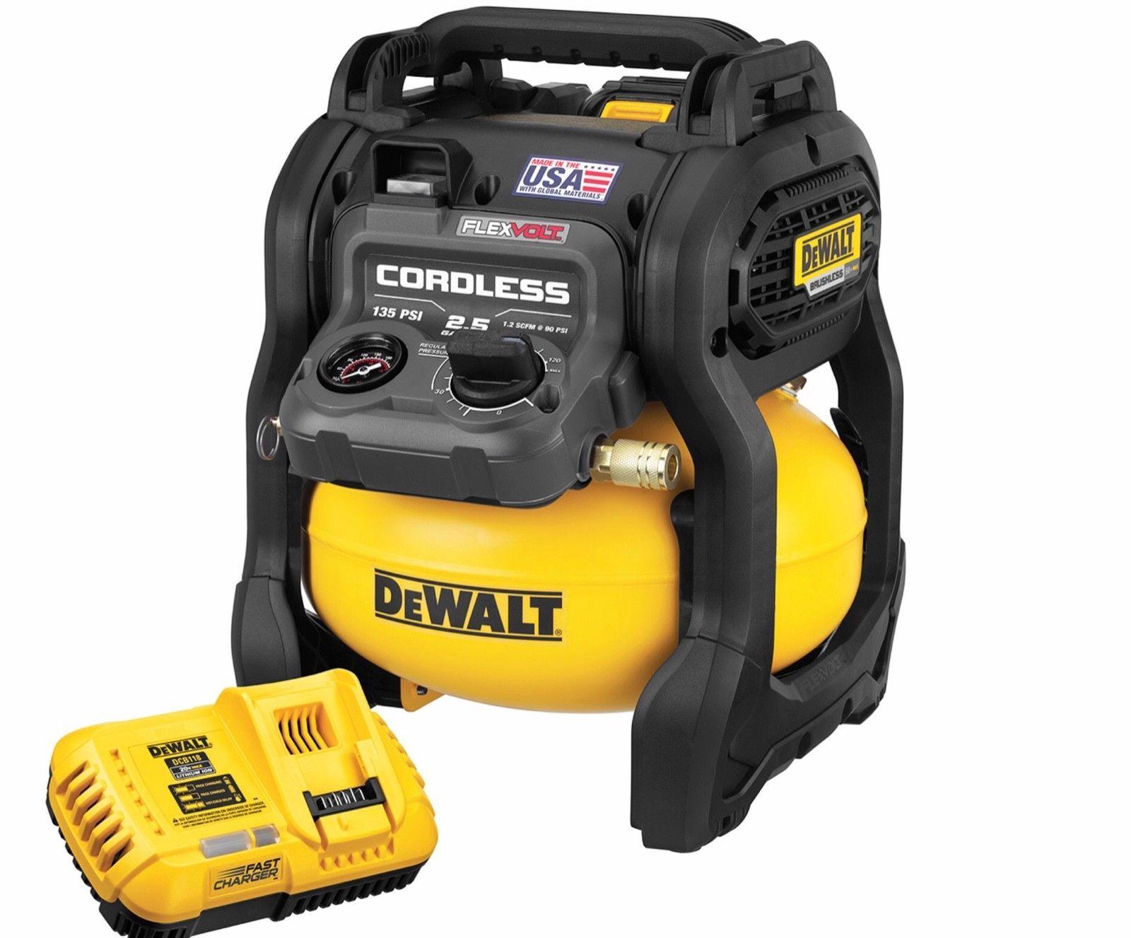 Air Compressors 30506 Dewalt Dcc2560t1 Flexvolt 60V Max 2