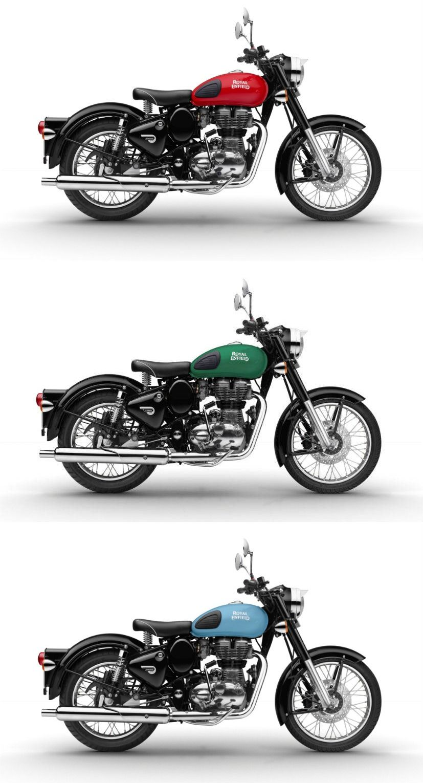 Royal Enfield Launches Redditch Classic 350 Variants Bookings To