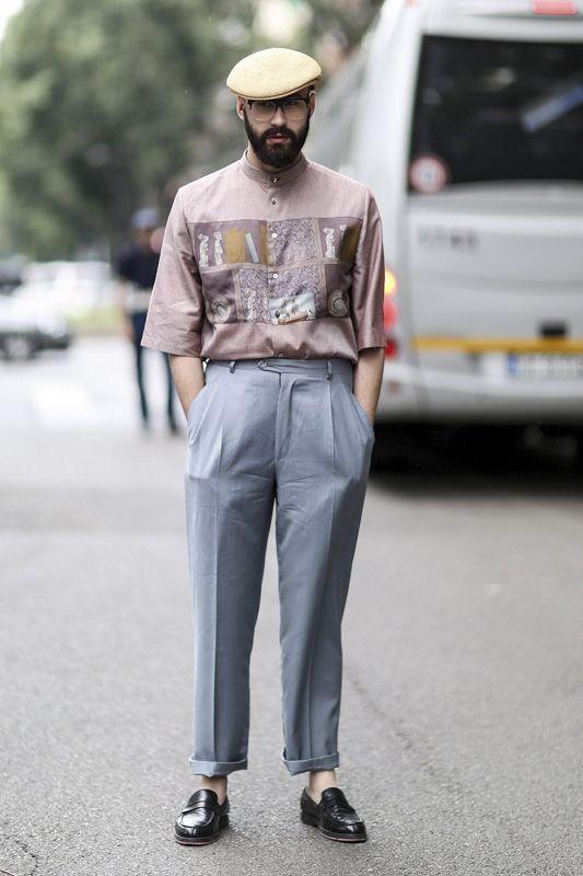 Street Style 2014 Milan Mens Street Style Milan Men S Fashion Week Hipster Mens Fashion