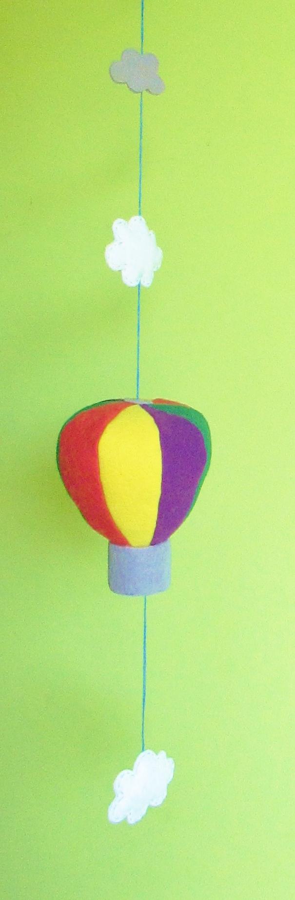 Móbile balão mágico!