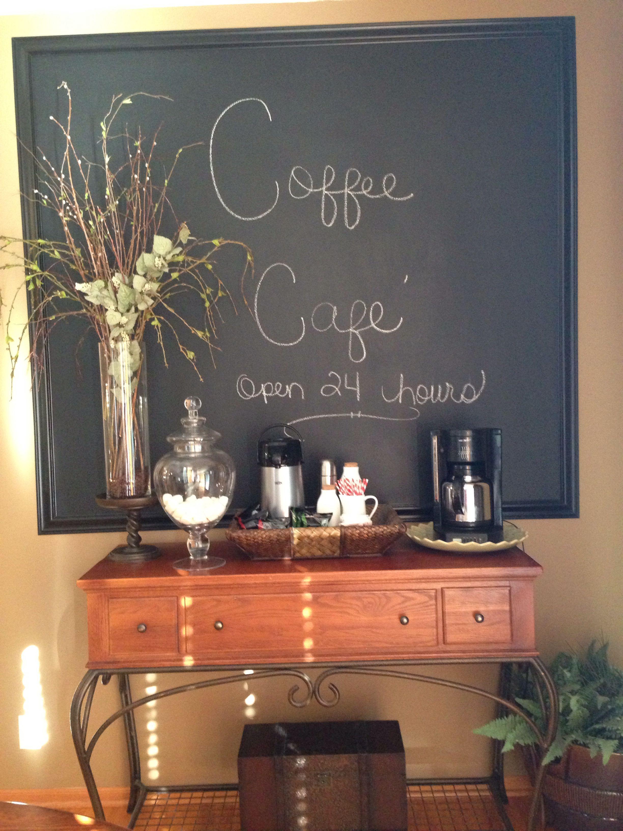 Coffee bars Estação de café, Cantinho do café, Cantinho