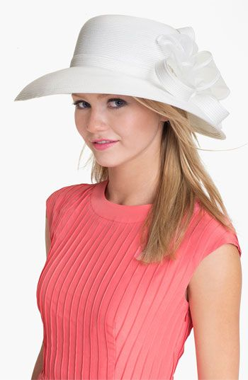 0017385066323 August Hat Opal Down Brim Derby Hat available at  Nordstrom - I think I  like the down brim hats