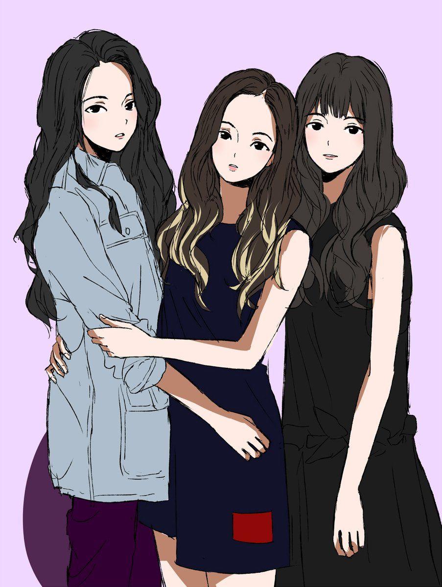 Pin Oleh Heidi Chu Di Anime And Drawing Ilustrasi Buku Gambar Ilustrasi