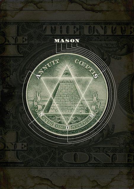 One Dollar Conspiracy Interesting Pinterest Eye Illuminati
