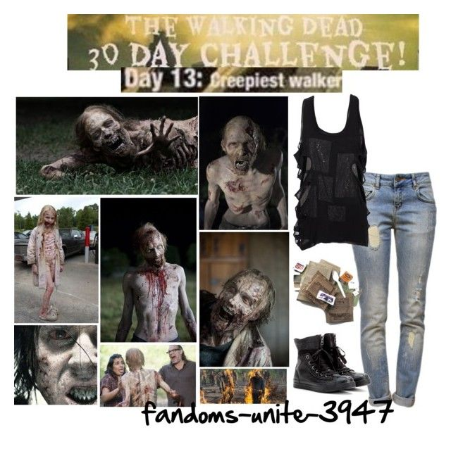 Day 13: Basically all the ones in the set although I'm terrified of all walkers by fandoms-unite-3947 on Polyvore featuring mode, Preen, Anine Bing and Converse