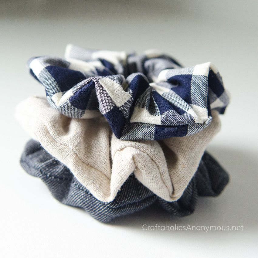 How to Sew Scrunchies Tutorial #scrunchiesdiy