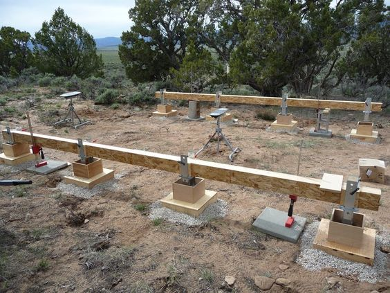 Pier And Beam Foundation Google Search Pier And Beam Foundation Container House Building A Shed