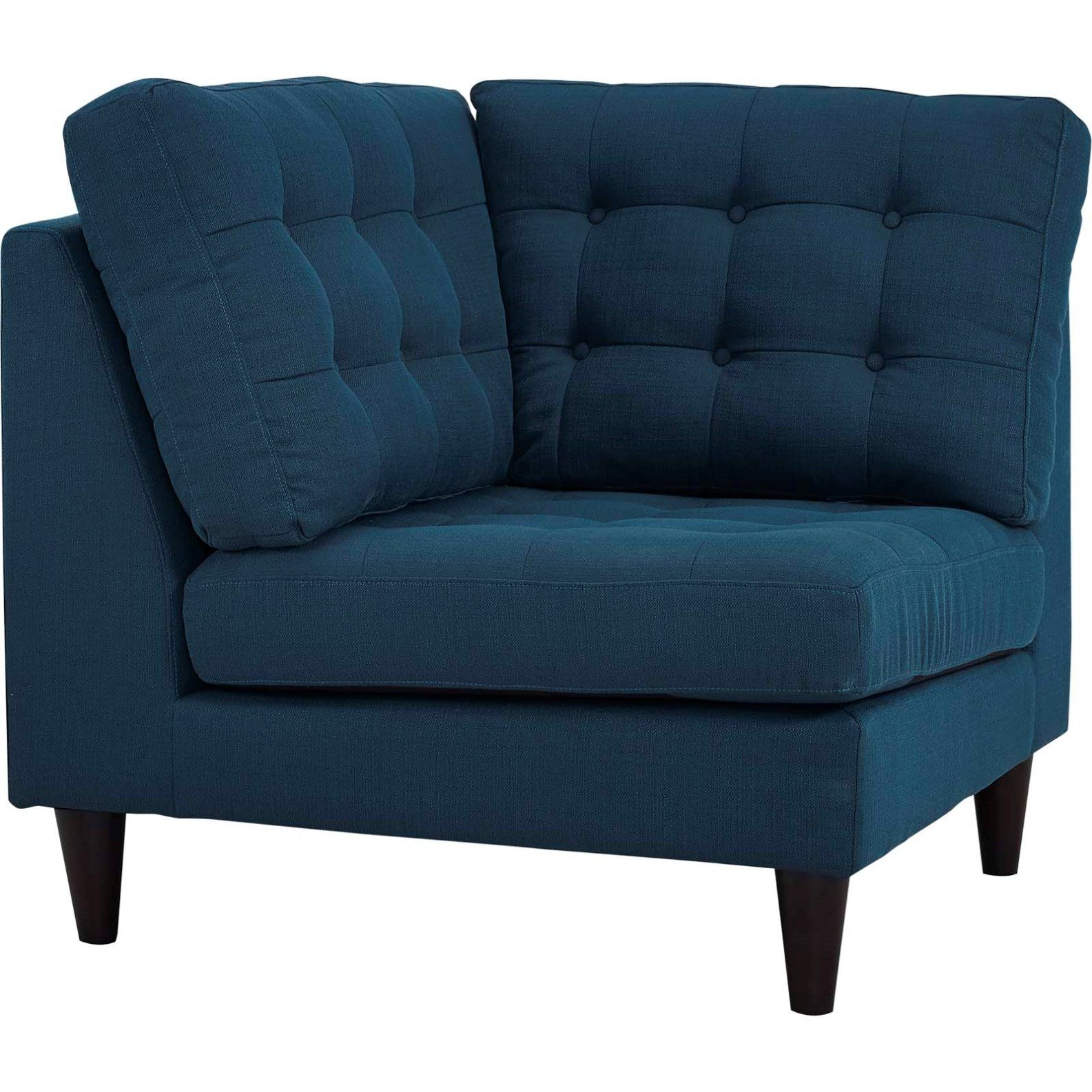 Modern Contemporary Urban Design Living Lounge Room Corner Sofa Chair Navy Blue Fabric Discover More By Checking With Images Upholstered Fabric Corner Sofa Sofa Chair
