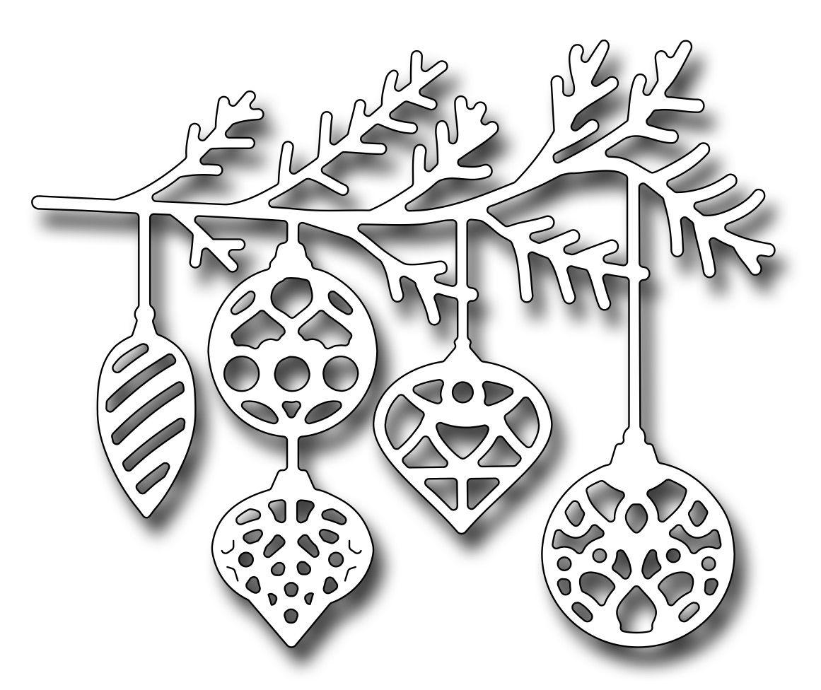 Fensterbild tonkarton weisser karton cutting out ornament zweig weihnachtszweig zweig mit - Fensterdeko zweig ...