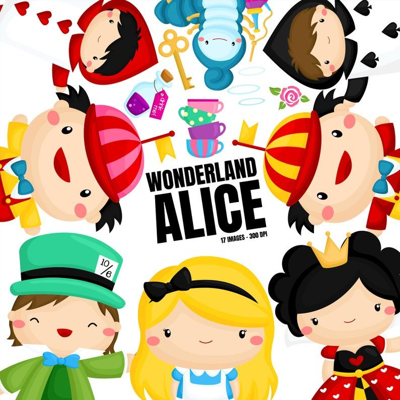 Alice In Wonderland Clipart Cute Cartoon Clip Art Queen Clipart Free Svg On Request Alice In Wonderland Clipart Cartoon Clip Art Alice In Wonderland