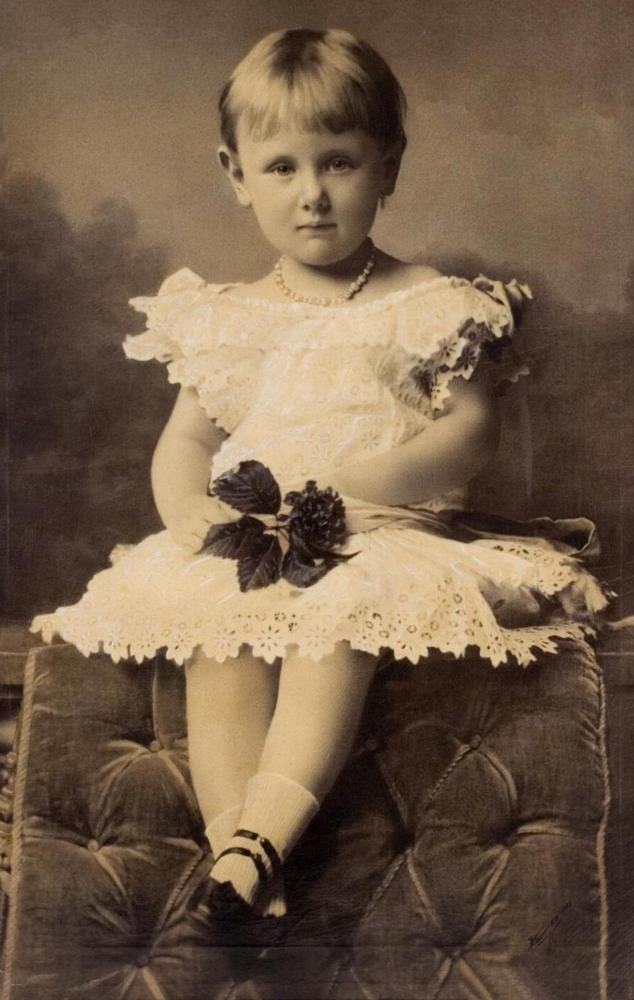 PRINSES WILHELMINA -  15.08.1883