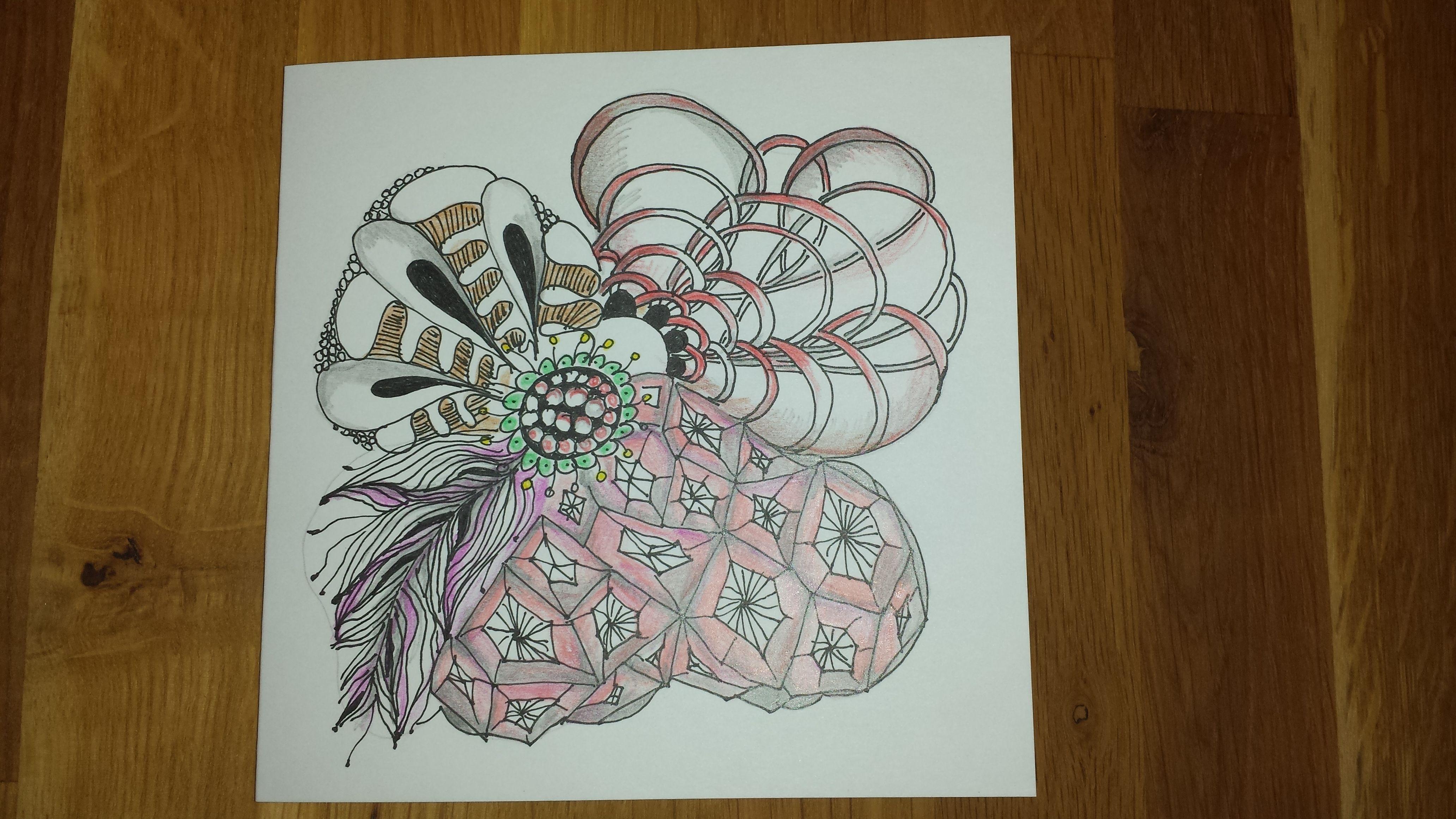 didl zentangle eigen werk met afbeeldingen  zentangle