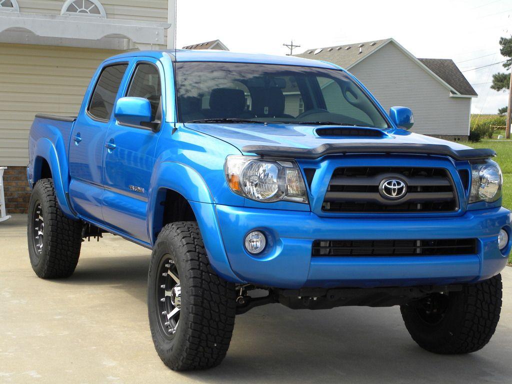 Toyota B Blue Paint