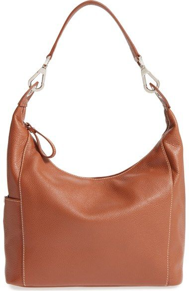 Longchamp 'Le Foulonne' Leather Hobo Bag available at #Nordstrom ...