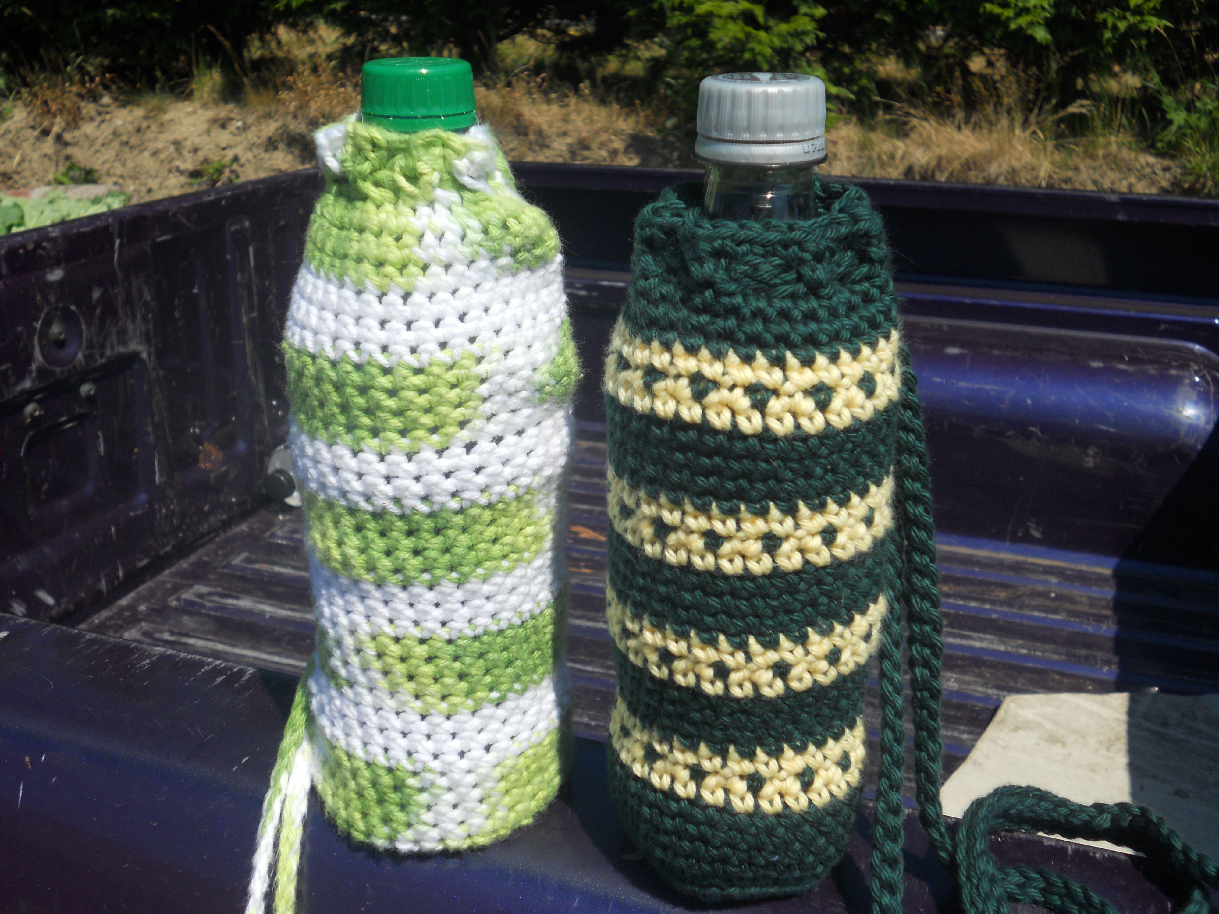 Water bottle holders anastaciaknits free pattern crochet water bottle holders anastaciaknits free pattern bankloansurffo Choice Image