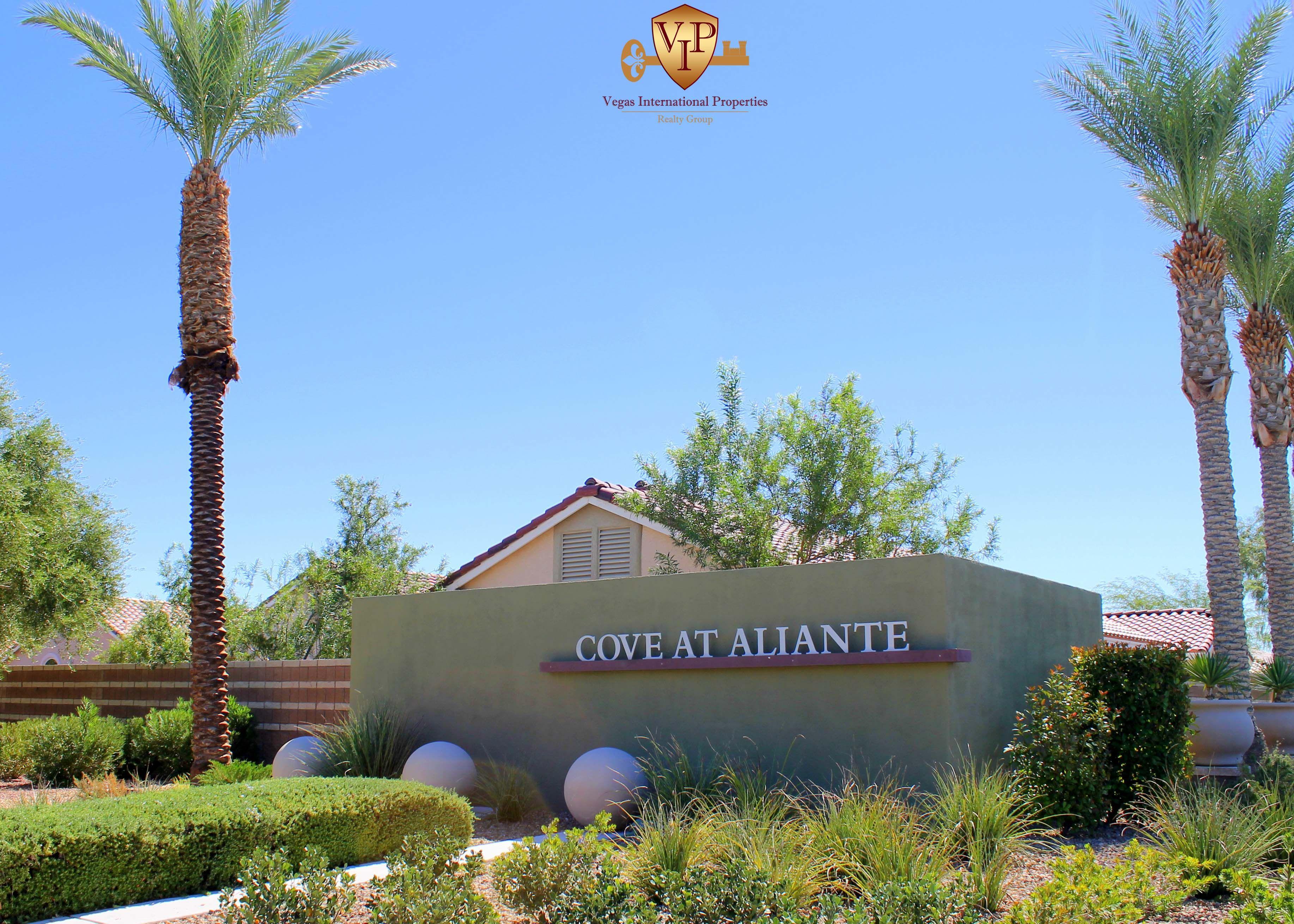 Cove at Aliante Single Story Homes North Las Vegas NV 89084