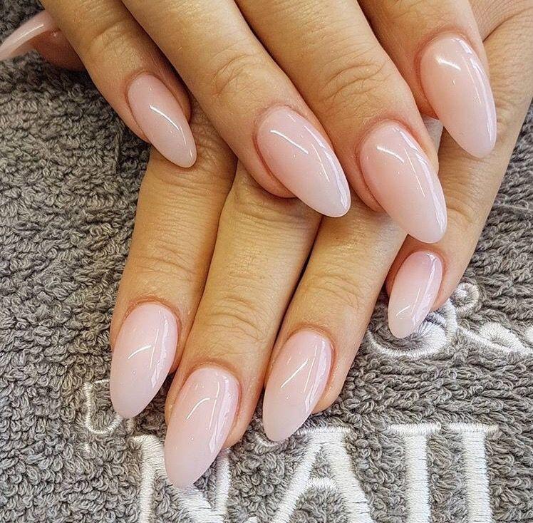 Opi Bubble Bath Almond Acrylic Nails Gel Nails Nails