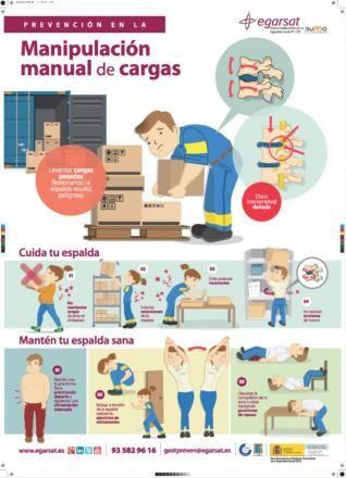 Prevención en la manipulación manual de cargas