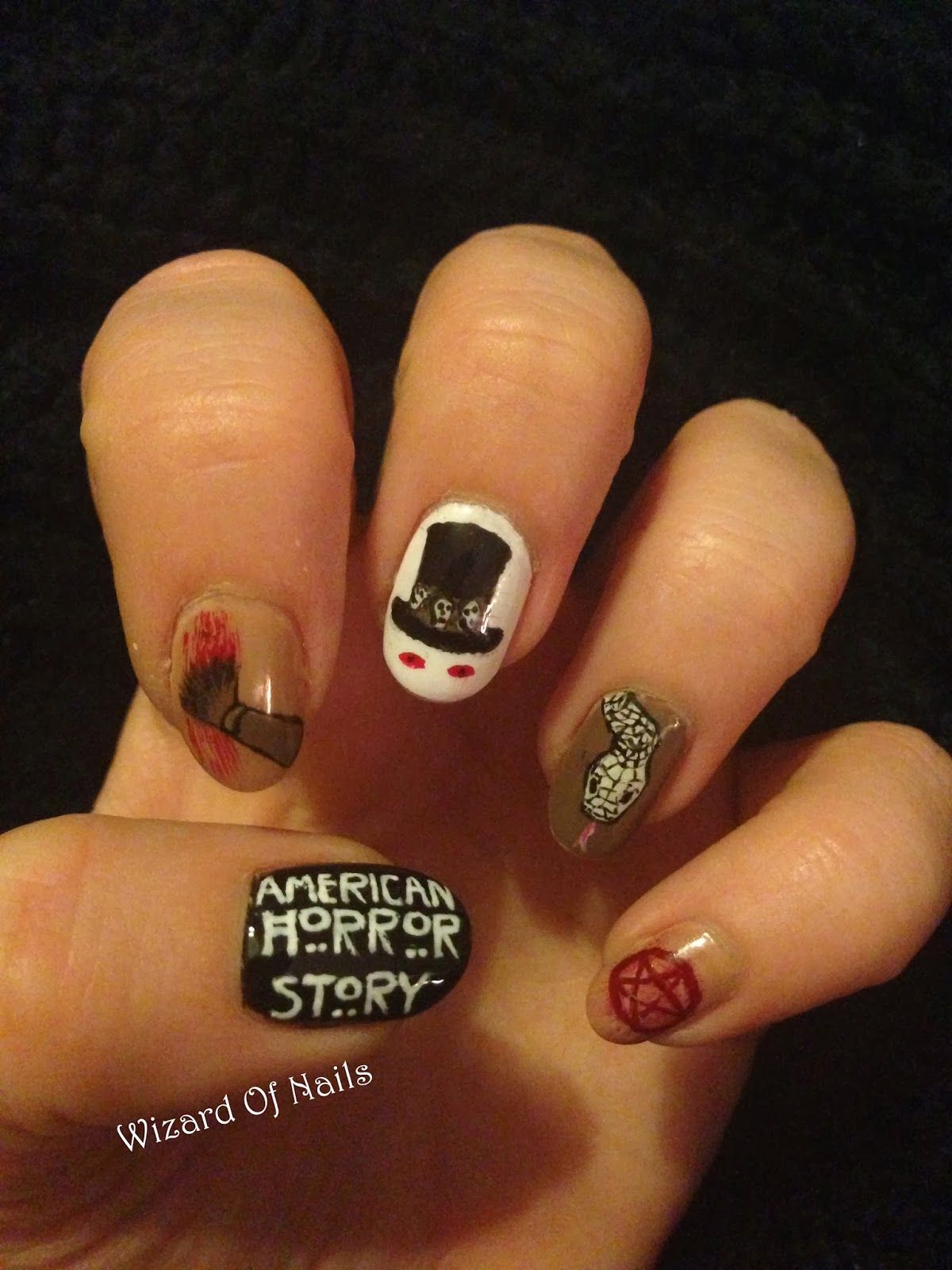 American Horror Story: Coven nails | Nail Decor | Pinterest ...