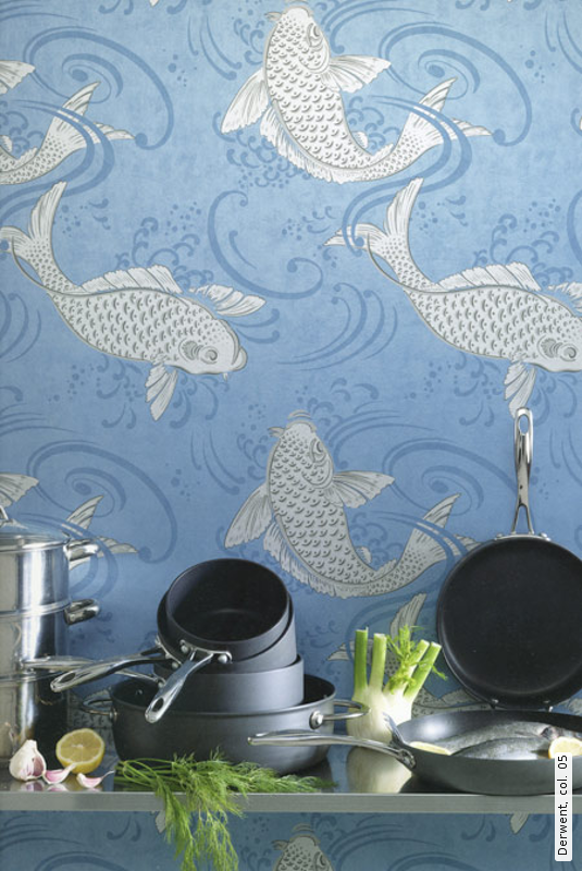 fish in the kitchen