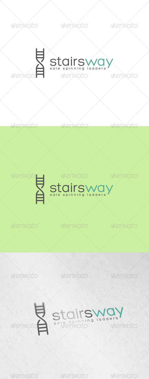 Stairs Way Logo  #EPS #Stairs Way Logo #letter S • Click here to download ! http://graphicriver.net/item/stairs-way-logo/6902936?ref=pxcr