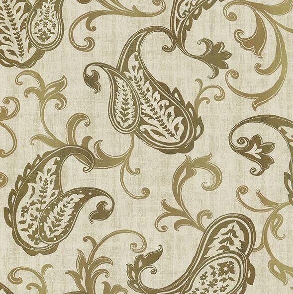 Alhambra Darro Global 33 X 20 5 Paisley 3d Embossed Wallpaper Wallpaper Samples Transitional Wallpaper