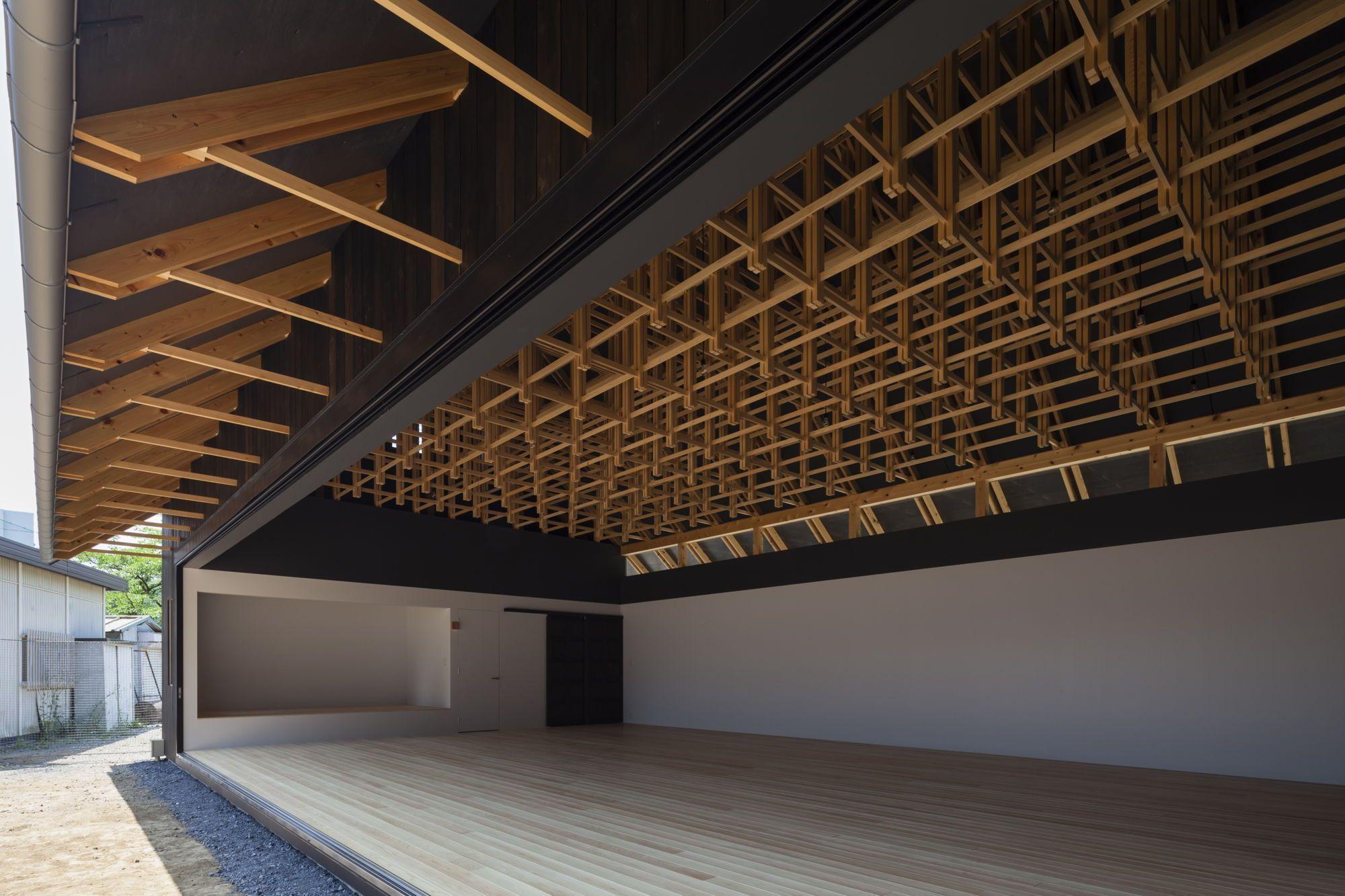 Fachwerk auf japanisch zwei sporthallen in tokio arch contemporary architektur fachwerk - Japanische innenarchitektur ...