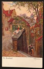 Künstlerkarte Fr. Rowland Willkommen 10740