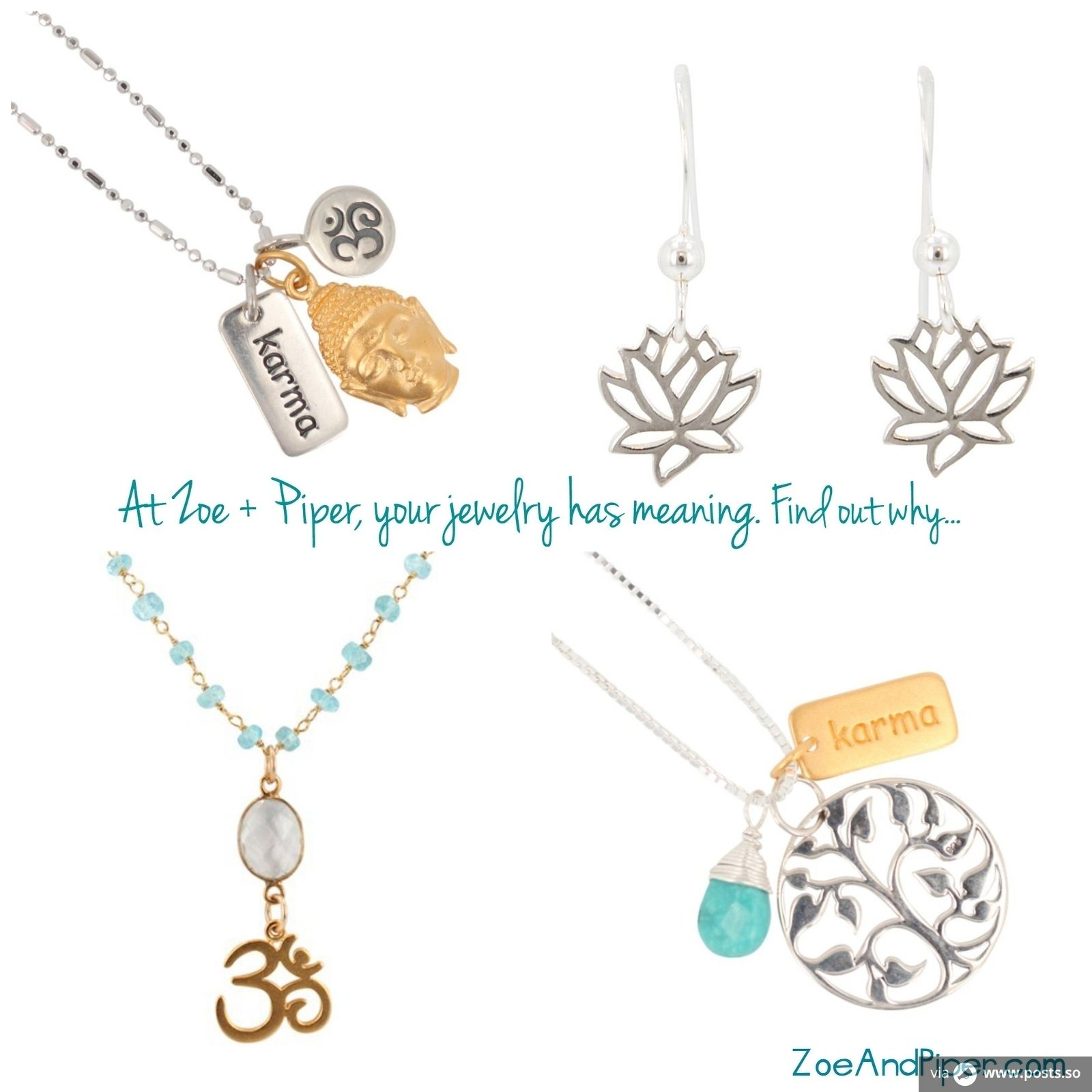 At Zoe and Piper your jewelry has meaning. Find out why http://bit.ly/1rPOvIT