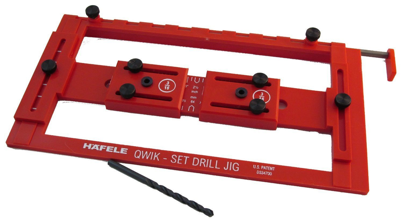 Hafele Quick Set Drilling Jig For Handles 001 31 233 I  # Tiradores Para Muebles Hafele