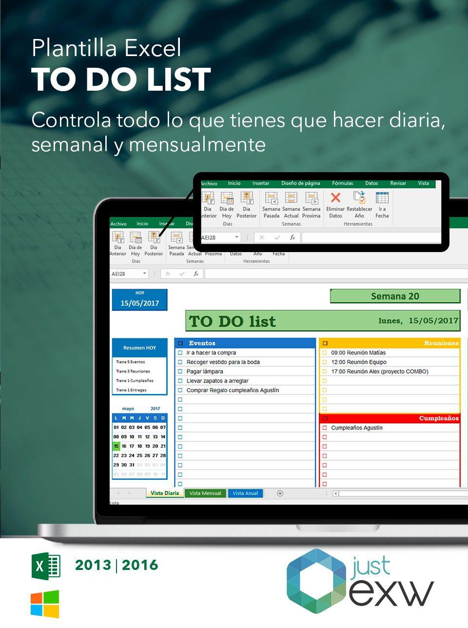 Plantilla de agenda para Excel   Pinterest   Plantas, Hojas de ...