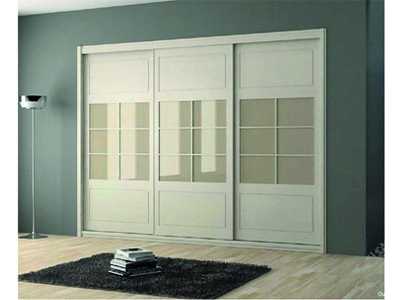 Armario de 2 90 mts de puertas correderas con saetinos y - Puertas correderas armarios empotrados ...