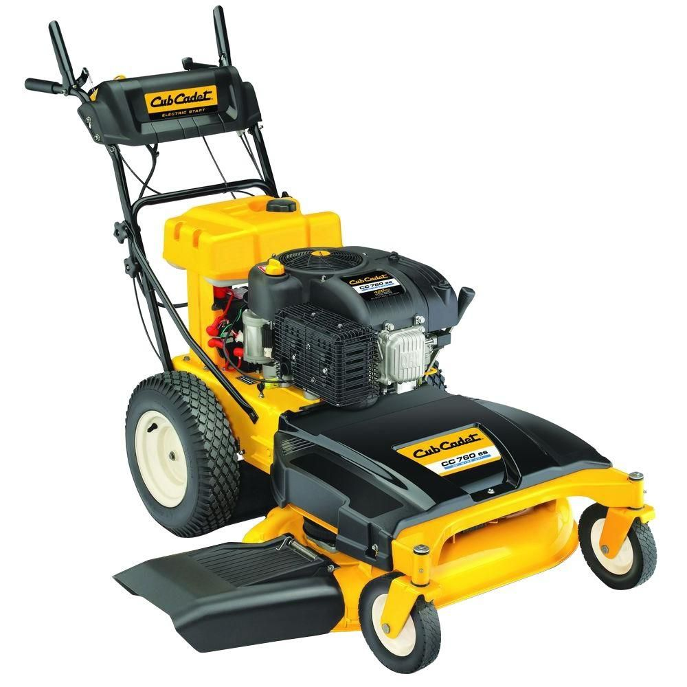 Cub Cadet 33 in. 420cc Electric Start Wide Cut Gas Self Propelled Mower-CC  760 ES - The Home Depot