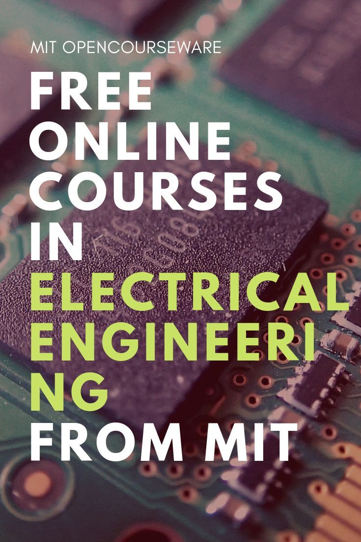 Electrical engineering and computer science free course