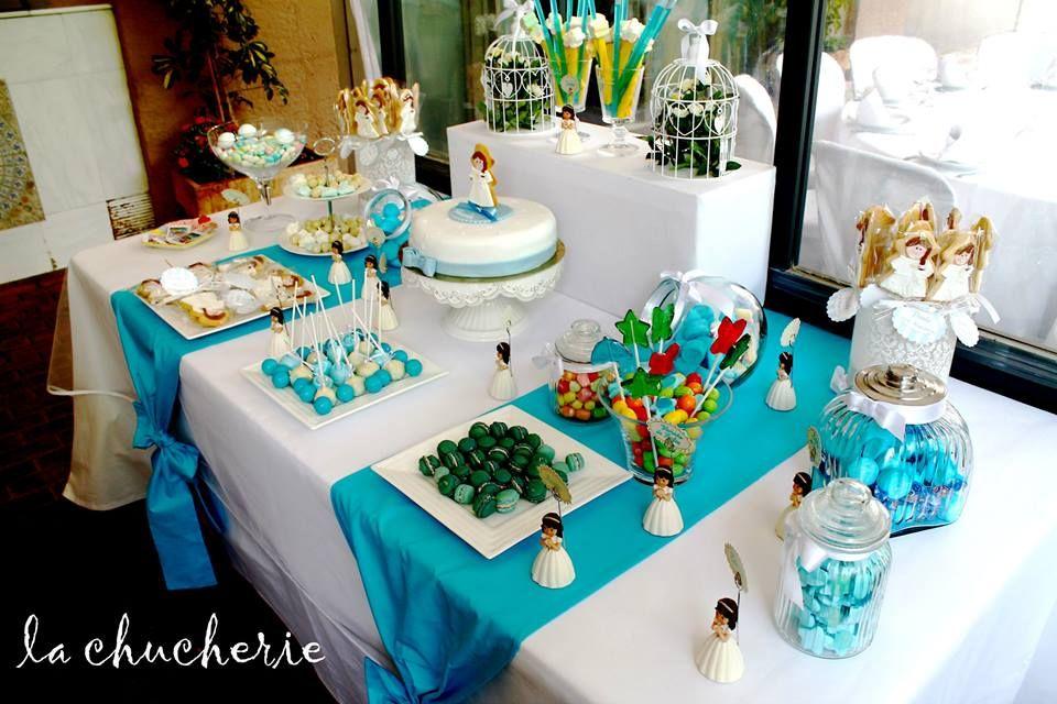 Primera comunion fiestas infantiles pinterest - Decoracion comunion en casa ...