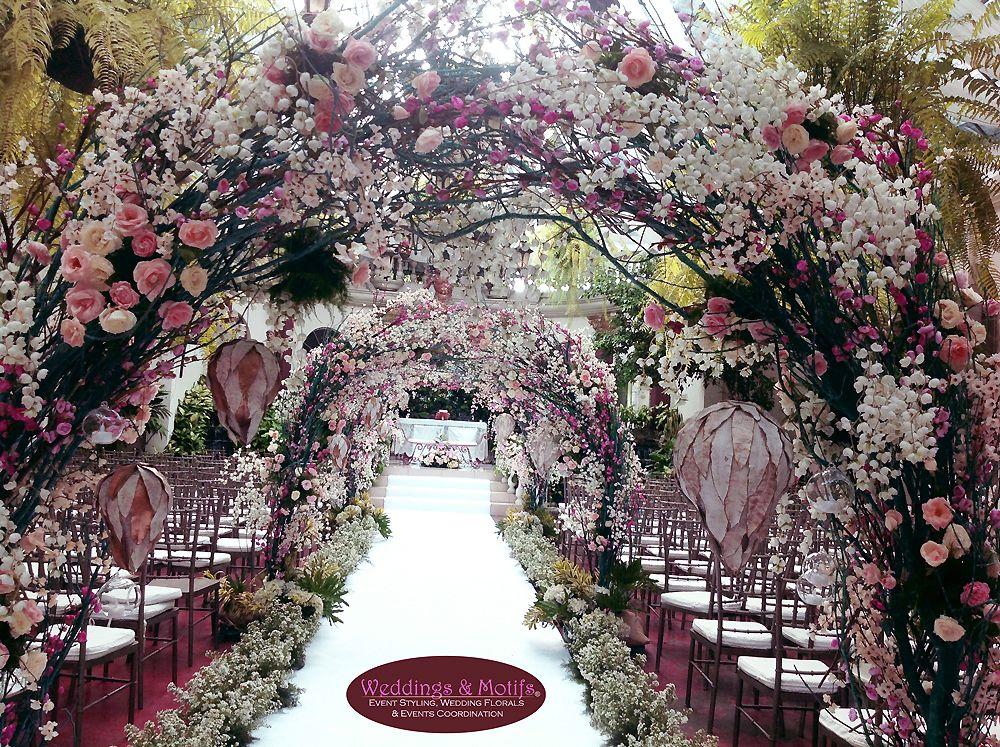 Enchanting Wedding Ceremony Setup By Weddings Motifs Wedding