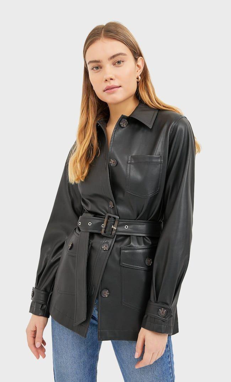 страдивариус куртка кожа