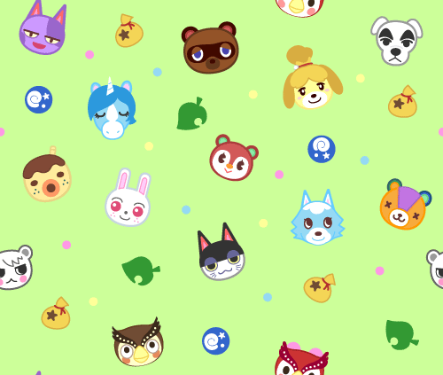 Been Working On Some Designs For Animal Crossing Buttons And Thought They Would Make A Cute Repeating Animal Crossing Animal Crossing Qr Animal Crossing Game