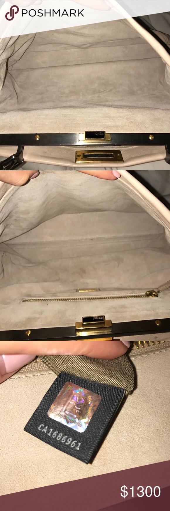 Spotted while shopping on Poshmark: Fendi extra pics! #poshmark #fashion #shopping #style #Fendi #Handbags