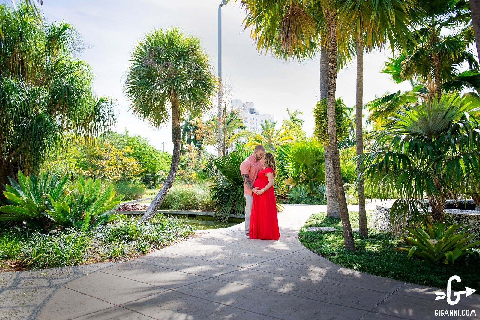 Miami Beach Botanical Garden MaternityPhotos