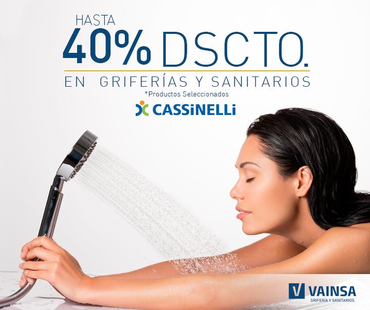 ¡ÚNICA OPORTUNIDAD! ¡Date un gusto con #Vainsa! ¡Date una vuelta por Cassinelli y disfruta de los grandes descuentos!