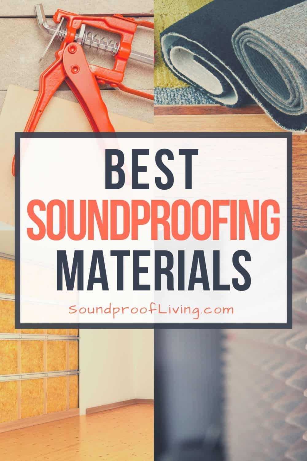 Best Soundproofing Materials And Products That Help You Block The Sound From Entering Or Leaving A Ro In 2020 Soundproofing Material Sound Proofing Wall Insulation Diy